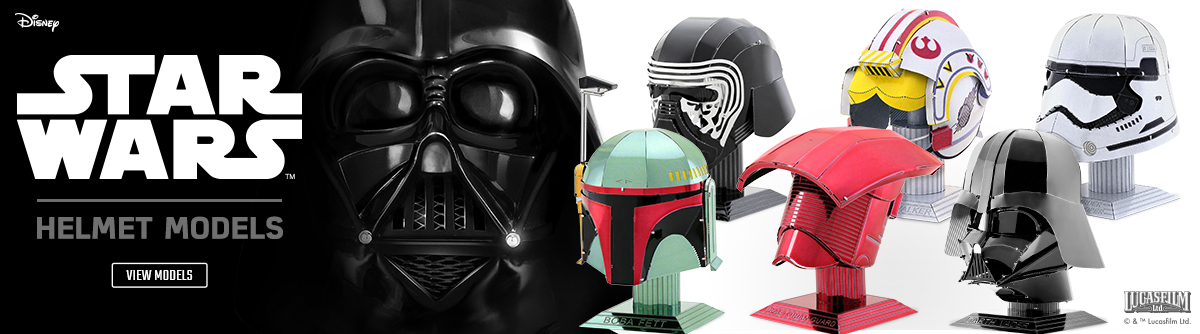 Metal Earth Star Wars Banner