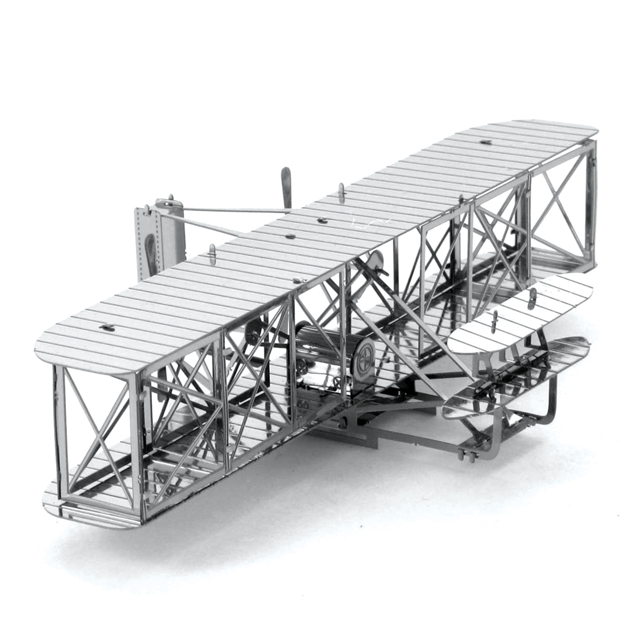 Wright Brothers Flight with fascinations - metal earth 3d metal model diy kits - unique gifts