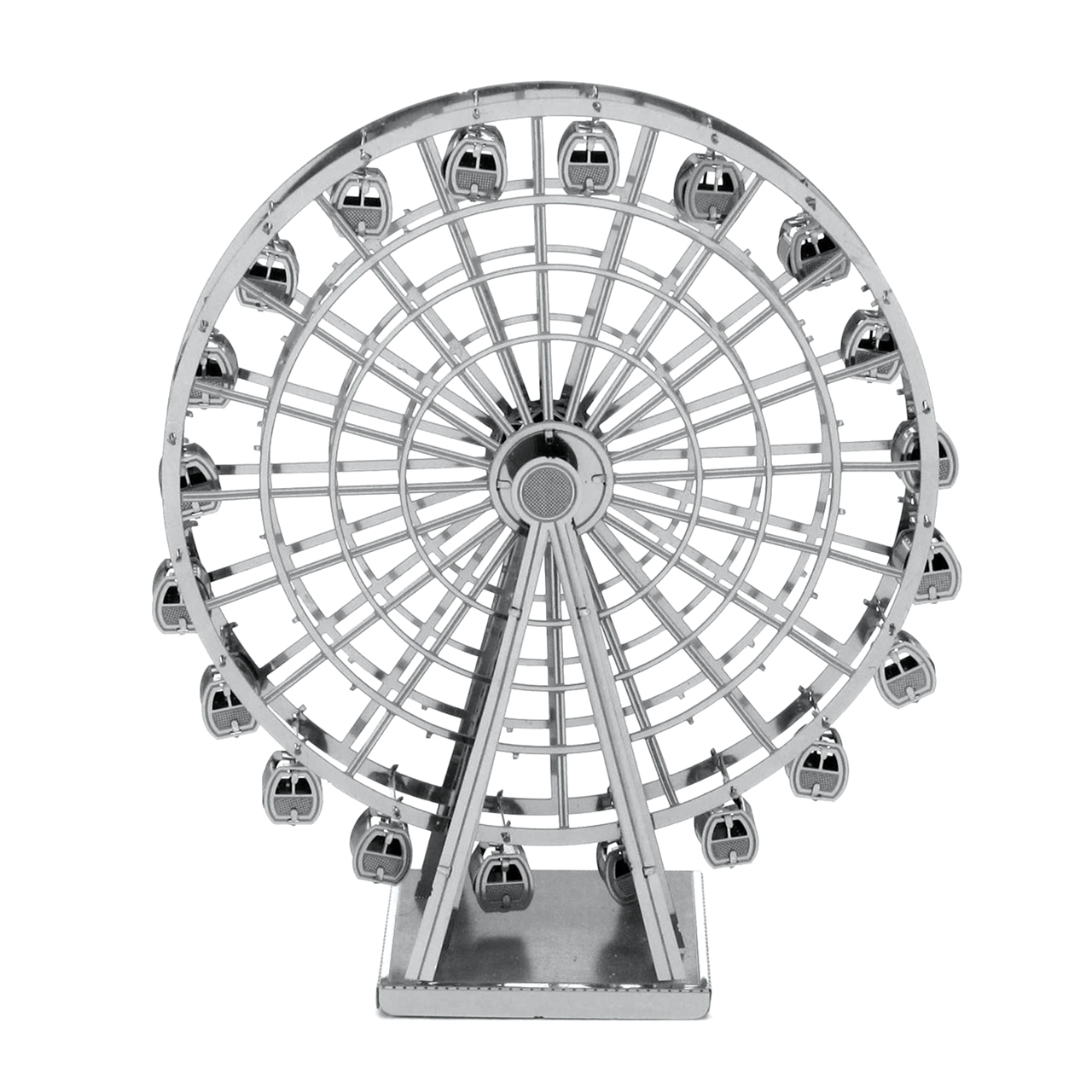 Fascinations metal earth 3d metal model diy kits unique gifts picture of ferris wheel biocorpaavc