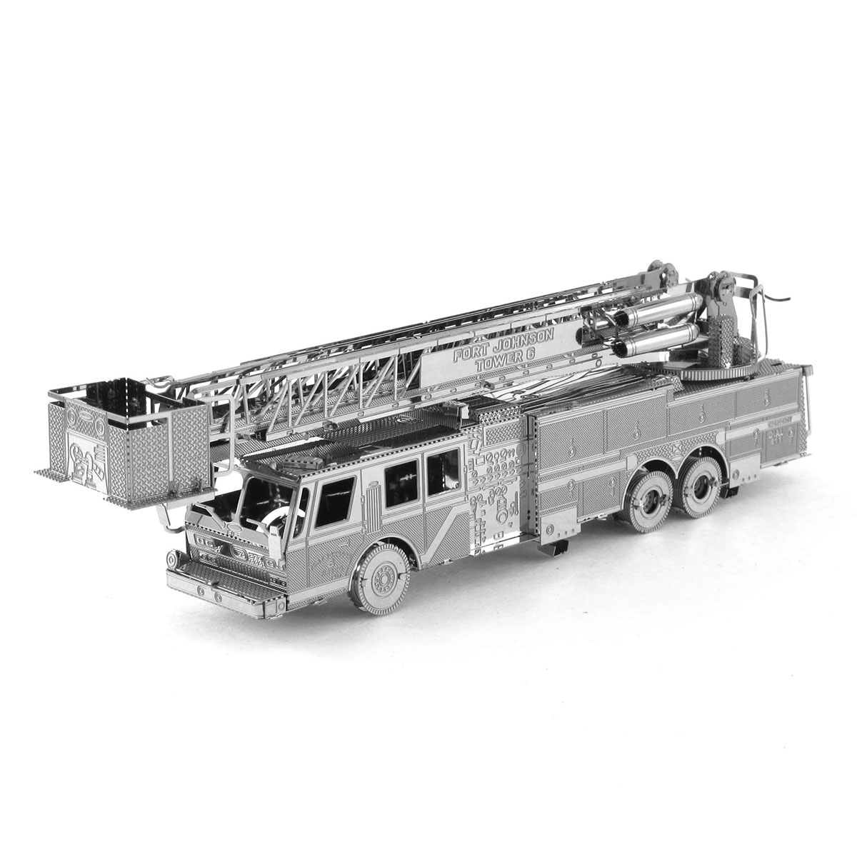 Fascinations Metal Earth 3d Model Diy Kits Fire Truck Schematic Picture Of Engine