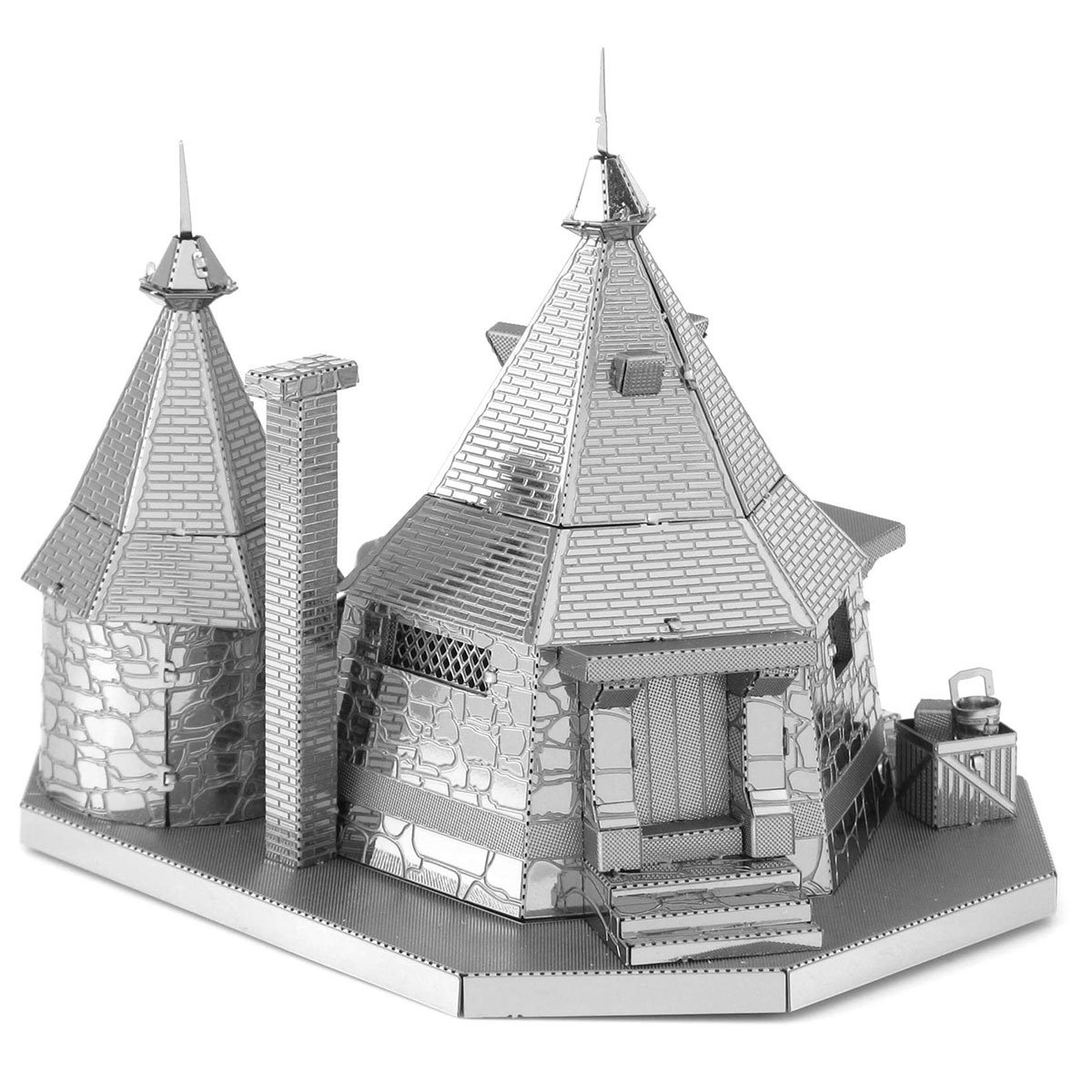 Fascinations metal earth 3d metal model diy kits What house was hagrid in