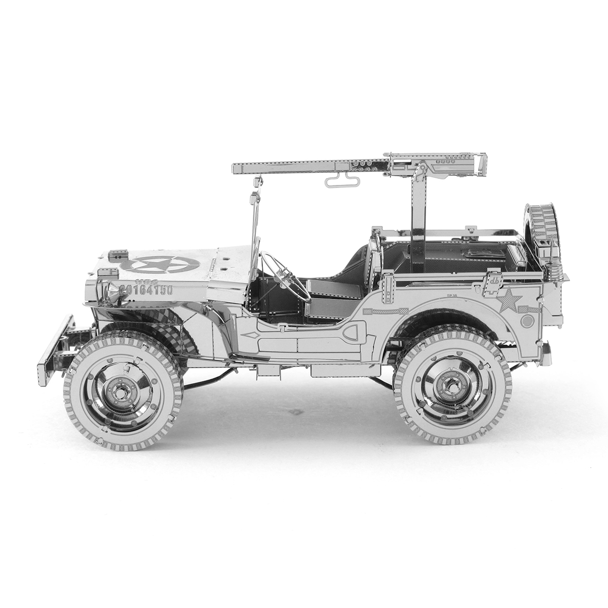 Jeep mb jeep : Fascinations - Metal Earth 3D Metal Model DIY Kits - Unique Gifts ...