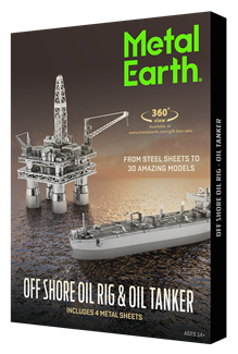 Picture of Offshore Oil Rig & Oil Tanker Gift Set