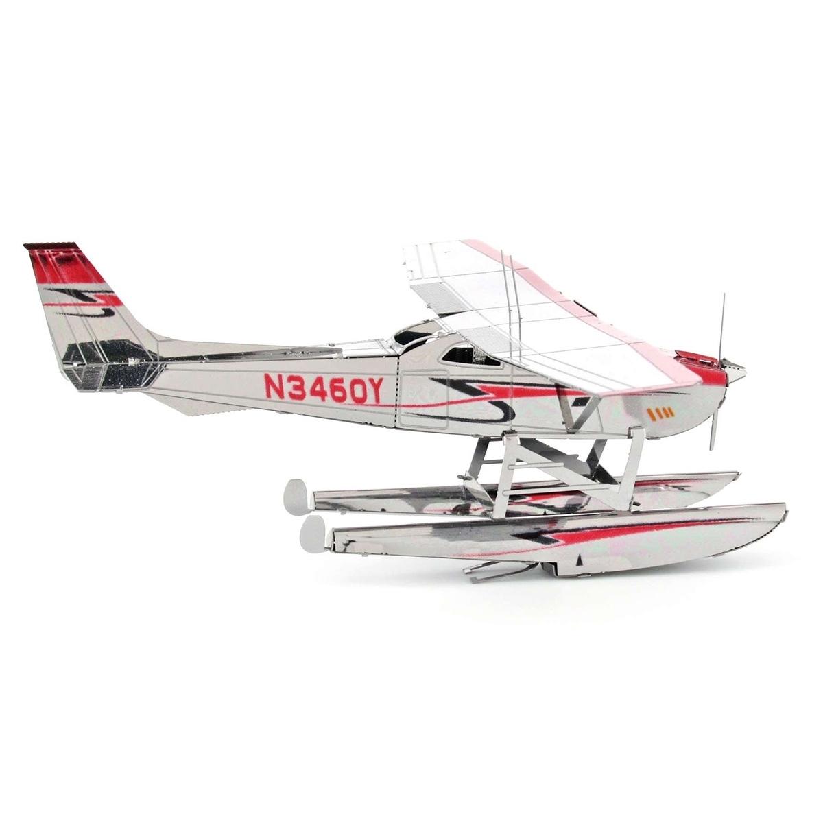 Metal Earth Cessna 182 Floatplane