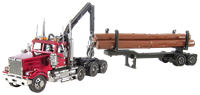 Picture of Western Star® 4900 Log Truck & Trailer