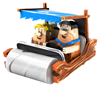 Picture of The Flintstones Car