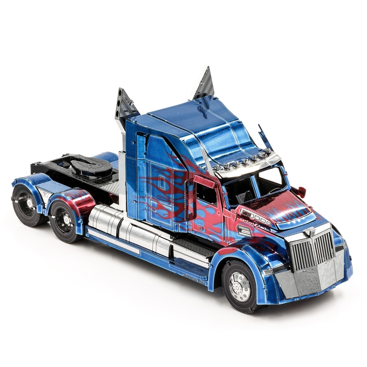 Fascinations ICONX Transformers Optimus Prime Western Star 5700 Truck Model Kit