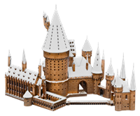 Picture of Hogwarts in Snow