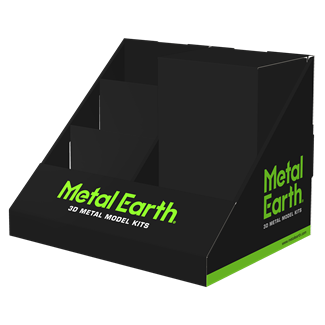 Picture of 4 Pocket Generic Metal Earth Display