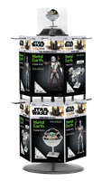 Picture of Star Wars The Mandalorian 2-Tier Wire Rack Prepack