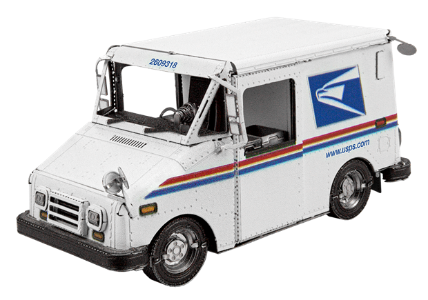 Picture of USPS LLV Mail Truck